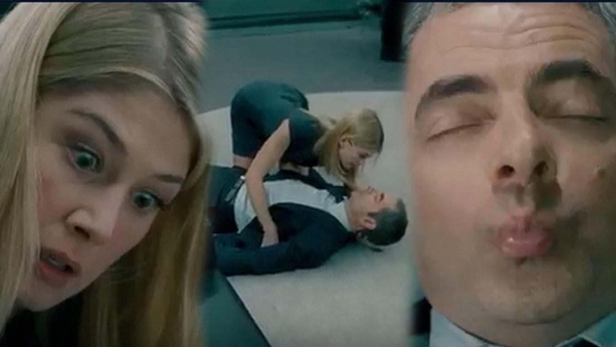 เรื่องตลกนะ ธรรมดา! อันนี้หาดูยากกว่า!! กับฉากจูบแบบพระเอกๆ ของ 'Mr. Bean'