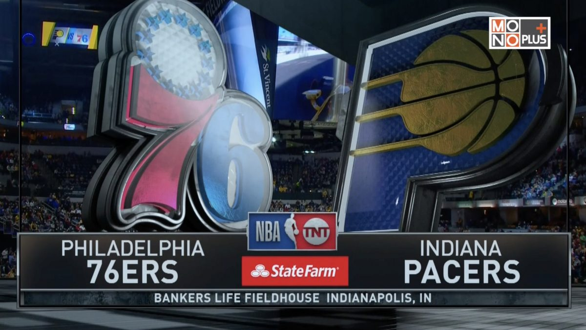 [Highlight] Philadelphia 76ers VS. Indiana Pacers