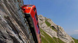 ชมวิวสุดสวย กับ ทางรถไฟ สุดชันในโลก Mt Pilatus