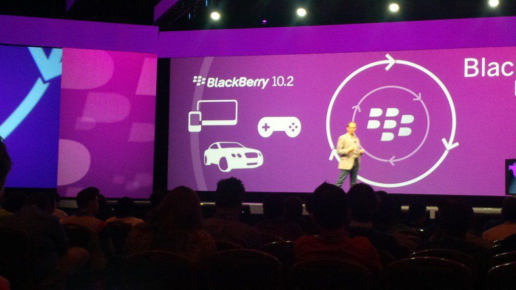 BlackBerry 10.2 debut