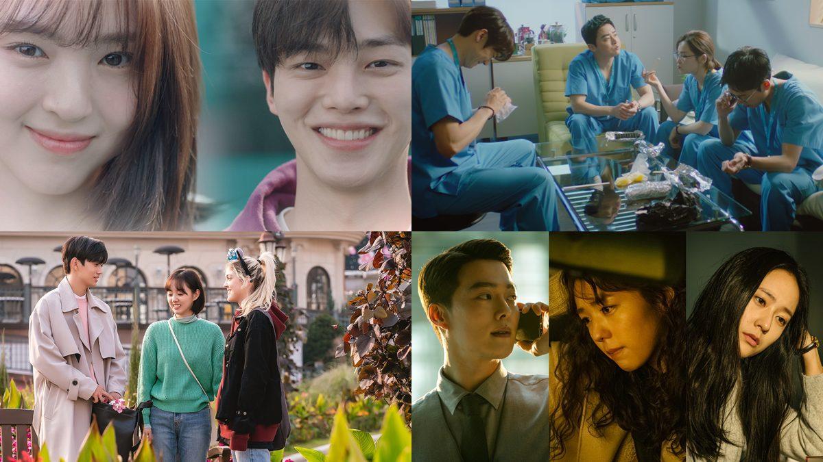 5 ซีรีส์เกาหลีแนวความรัก มาใหม่ มิ.ย. มีทั้งรักแบบเรียลๆ รักโรแมนติก ชิงรักหักสวาท