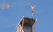 แข่งโดดน้ำบนสะพานสูงในบอสเนีย