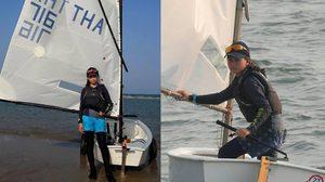 น้องจูล สาวน้อยวัย 13 ปี แล่นเรือใบเพียงลำพัง! จากหัวหิน-สัตหีบ ตามรอยในหลวง ร.9