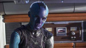 คาเรน กิลแลน โพสต์ภาพเบื้องหลัง เนบิวลา โดนตรึงร่าง ในหนัง Avengers: Infinity War