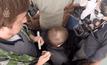 ตัดผมบนบอลลูนในรัสเซีย