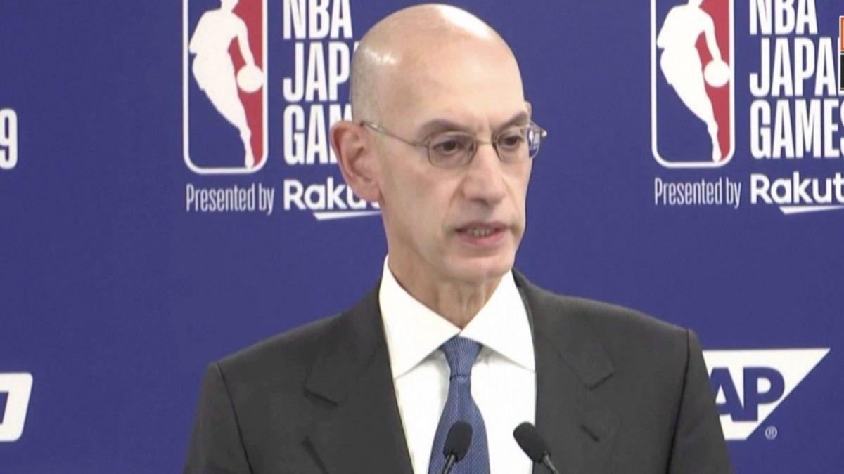 """NBA ไม่สนจีนแบน ลั่นหนุนเสรีภาพแสดงออก """"ม็อบฮ่องกง"""""""