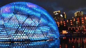 ฮ่องกง โชว์ โคมไฟยักษ์ รักษ์สิ่งแวดล้อม รับเทศกาลกลางฤดูใบไม้ร่วง