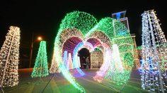 ส่งท้ายปีเก่ากับ งานประดับไฟ ราชบุรี ชมแสงสีสวยๆ ยามค่ำคืน