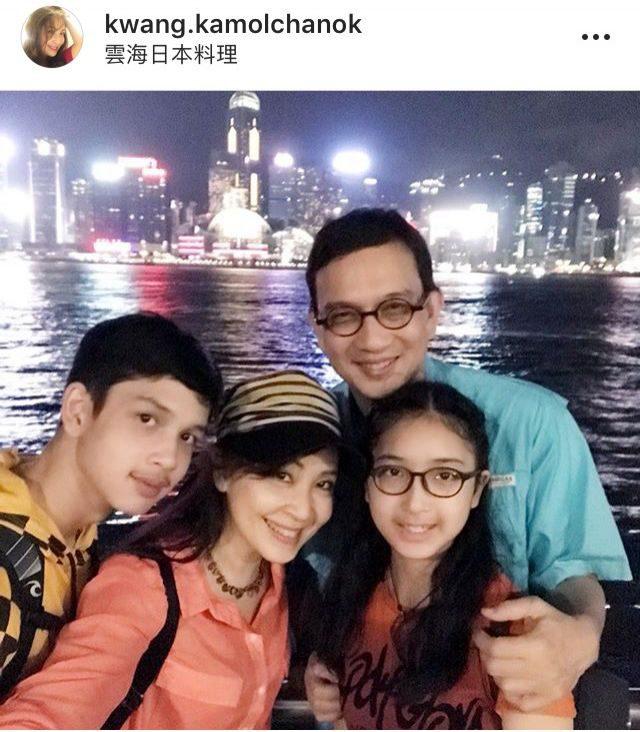 ครอบครัว กวาง กมลชนก ยกแก๊งเที่ยวสุดน่ารัก