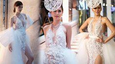ชุดสวยใครใส่ก็สวย มารีญา VS เจนี่ กินกันไม่ลง ในชุดแต่งงานสุดหรู ปักเพชรทั้งตัว