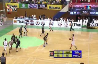 การแข่งขัน TBL2014 ชลบุรี ไฮเทค VS แวมไพร์ บาสเกตบอลคลับ Q3