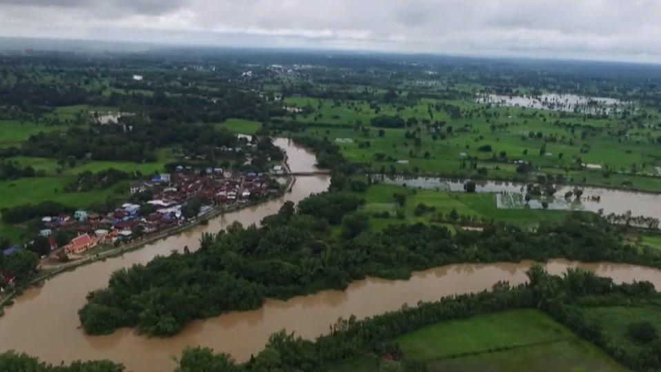 เกิดน้ำป่าไหลหลาก ในหลายจังหวัด ทางภาคเหนือและอีสาน
