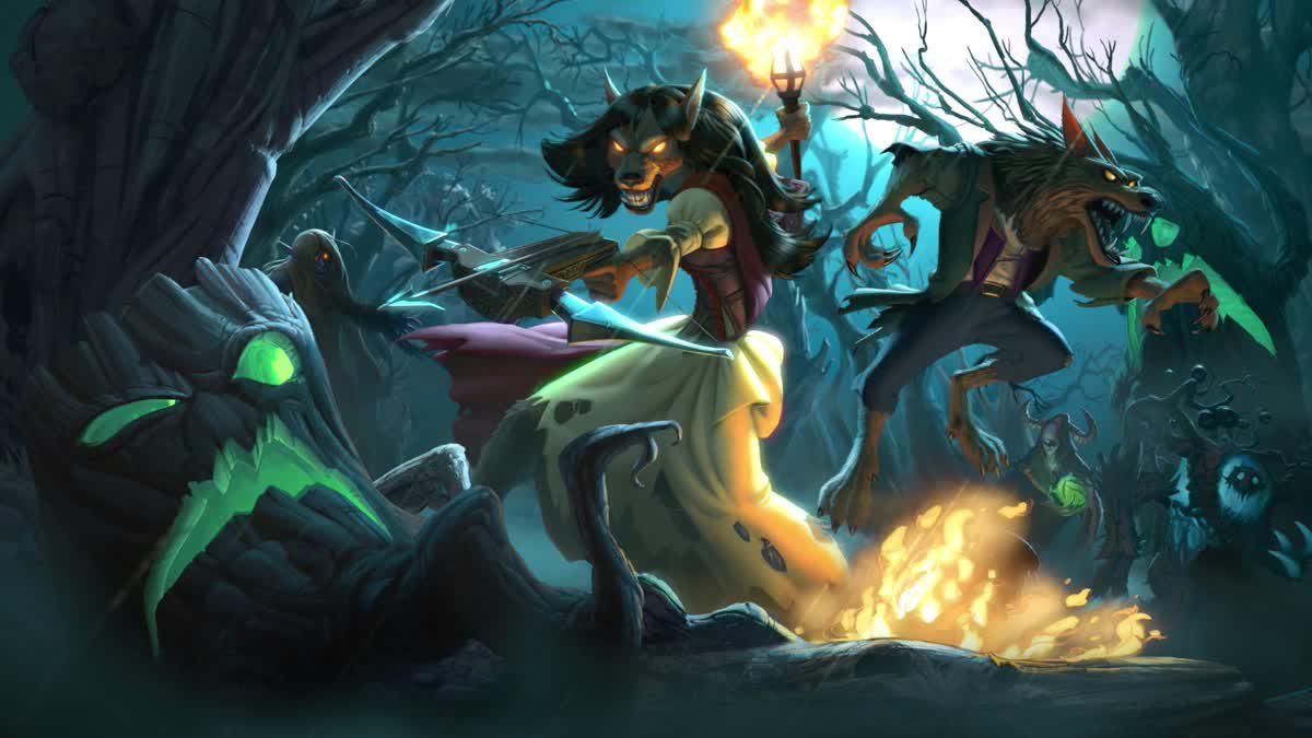 [ตัอวย่างเกม] Hearthstone The Witchwood โหมดล่ามอนสเตอร์