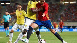 ผลบอล : หวิดพังคาบ้าน!! โมราต้า โขกท้ายเกมพา สเปน ยันเจ๊า โคลอมเบีย 2-2 แมตช์อุ่นเกือก