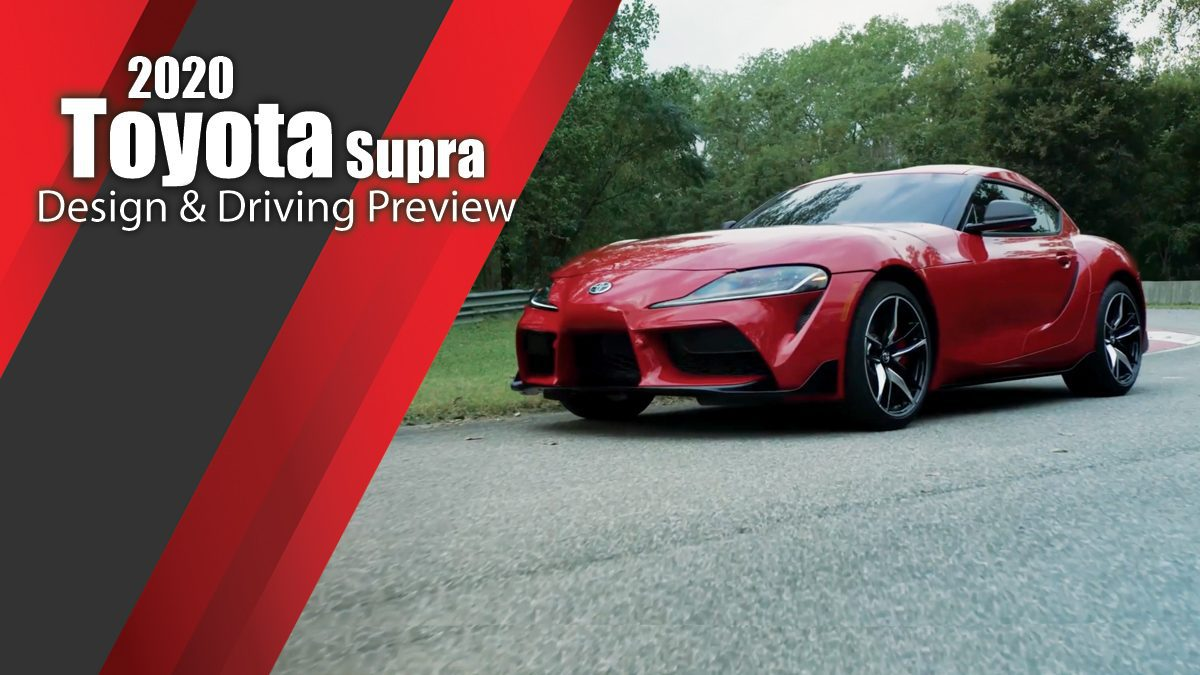 2020 Toyota Supra Design & Driving Preview