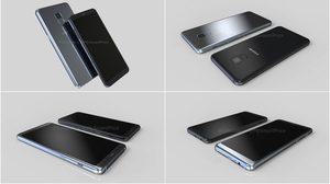 ชมภาพเรนเดอร์ล่าสุด Samsung Galaxy A5 และ Galaxy A7 2018 มาพร้อมกล้องหน้าคู่