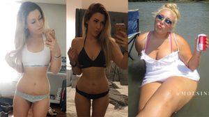 สาวอ้วน 107 กก. ลดน้ำหนักถูกวิธี หุ่นไม่ย้วย ผิวไม่แตก แถมยังได้เงินหมื่นอีกด้วย