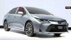 เปิดม่านแล้ว Toyota Corolla Sedan ที่งาน Guangzhou Auto Show 2018