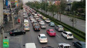 เช็คจราจร!หลายเส้นทางรถยังติดหนัก-เกิดอุบัติเหตุหลายจุด