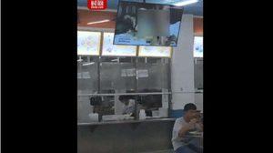 นักศึกษาฮือฮา กินข้าวอยู่ดี ๆ หนังโป๊สุดฮาร์ดคอร์ ฉายกลางโรงอาหาร