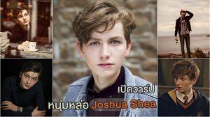 เปิดวาร์ป หนุ่มหล่อ Joshua Shea รับบท นิวท์ สคามันเดอร์ ตอนเรียนฮอกวอตส์