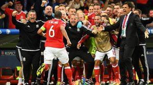 ผลบอล : สปิริตทีมล้วนๆ! เวลส์พลิกชนะเบลเยี่ยม 3-1 ทะลุรอบรองฯ ยูโร 2016