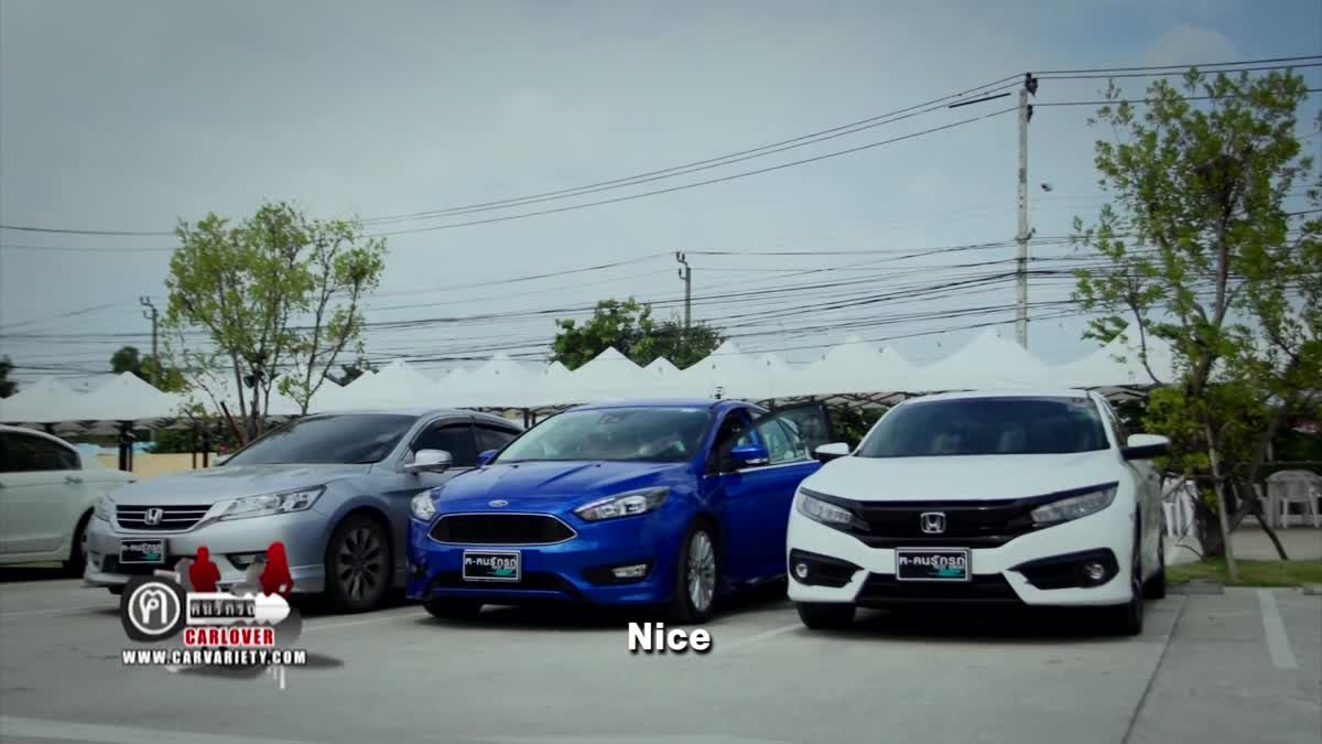 Honda Civic 1.5 RS Turbo VS Ford Focus 1.5 Ecoboost EP.1