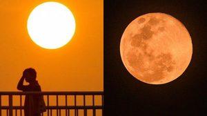 26-27 เม.ย. ดวงอาทิตย์ตั้งฉากกรุงเทพ-ซูเปอร์ฟูลมูน ใกล้โลกที่สุดในรอบปี