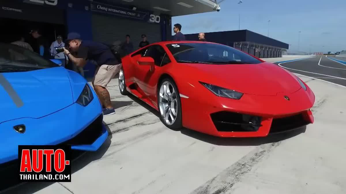 Testdrive Lamborghini Huracan LP 610-4 and LP 580-2