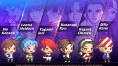 Crusaders Quest จับมือ King of Fighters 98 มหากาพย์เกมต่อสู้เป็นฮีโร่แล้ว