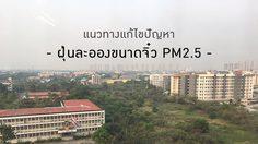 ปัญหาวิกฤตฝุ่นละอองขนาดจิ๋ว PM2.5