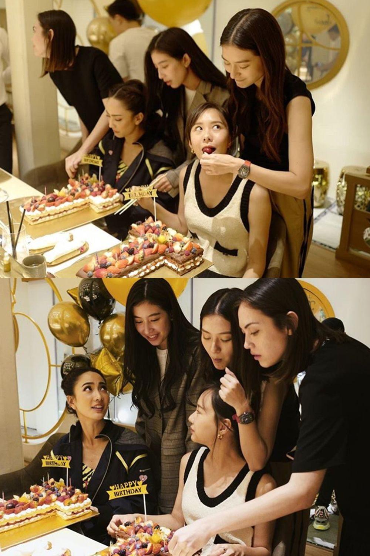 สาวๆ กับเค้ก
