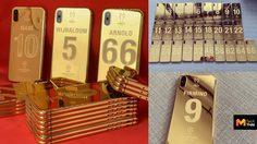 ฉลองแชมป์ยูฟ่า 6 สมัย บริษัทปรับแต่งมือถือ ส่ง iPhone XS หุ้มทอง 24K ให้นักเตะ Liverpool