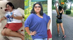 วิ่งหนีโรค ลดน้ำหนัก 40 กก. เบาหวาน ความดัน ไขมัน หัวใจ หายเกลี้ยง!