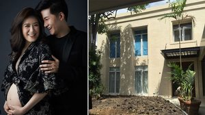 บ้านอั๋น ภูวนาท เรือนหออบอุ่น กับ ศรีภรรยา จ๋า ทิฟฟานี่ ในรั้วบ้าน คุณผลิน