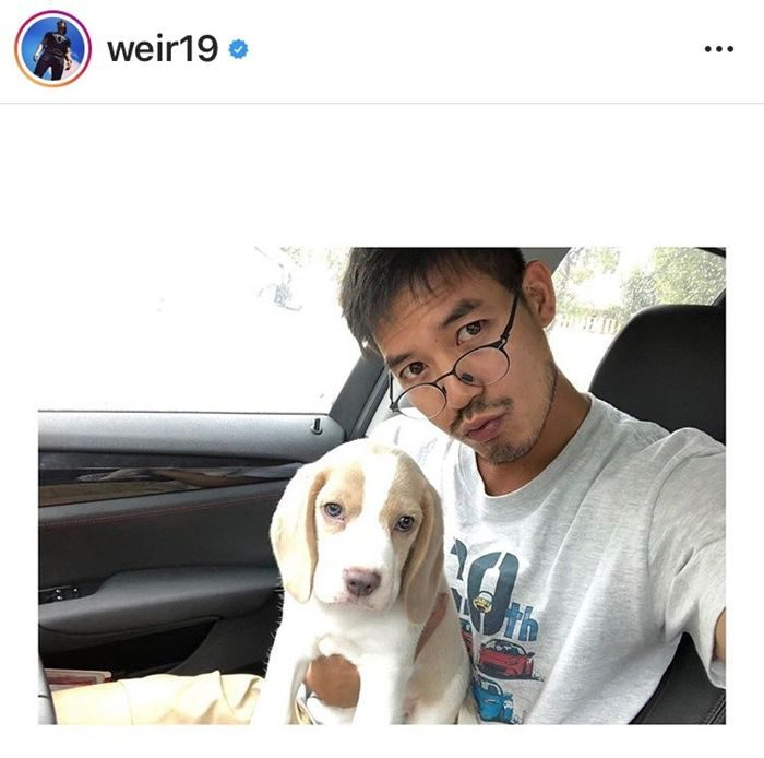 เวียร์ ศุกลวัฒน์ - น้องเวย์ สุนัขตัวโปรด