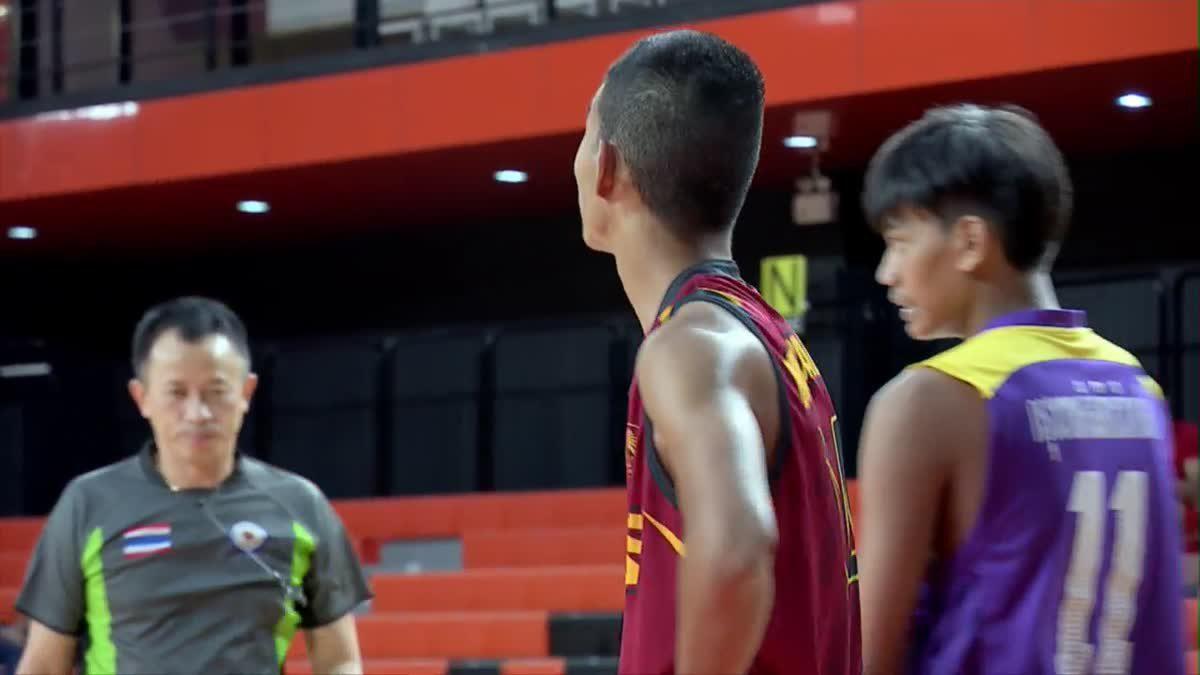 Q1 OBEC MONO CHAMPION CUP 2018 รุ่น 16 ปีชาย : ร.ร.กรุงเทพคริสเตียนวิทยาลัย VS ร.ร.เบญจมราชานุสรณ์ นนทบุรี (9 ก.ค. 2561)