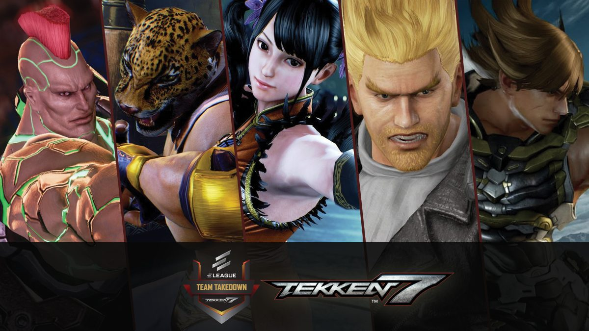 การแข่งขัน TEKKEN Team Takedown 2018 : Captains Challange [FULL]