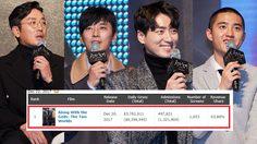 อันดับหนึ่งบ็อกซ์ออฟฟิศเกาหลีใต้!! แฟนคลับพร้อมใจเข้าไปดู Along with the Gods: The Two Worlds