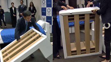 โอลิมปิก 2020 ญี่ปุ่นเตรียม เตียงกระดาษลังรีไซเคิลได้ต้อนรับทัพนักกีฬา