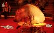 ฮิปโปแสดงละครสัตว์ในรัสเซีย