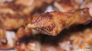 ร้านน้อมจิตต์ไก่ย่าง เอาใจคนชอบทั้งไก่บ้านและไก่เนื้อ