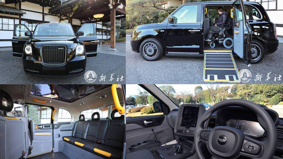 รถแท็กซี่ไฟฟ้าฝีมือจีน เตรียมวางขายในญี่ปุ่น