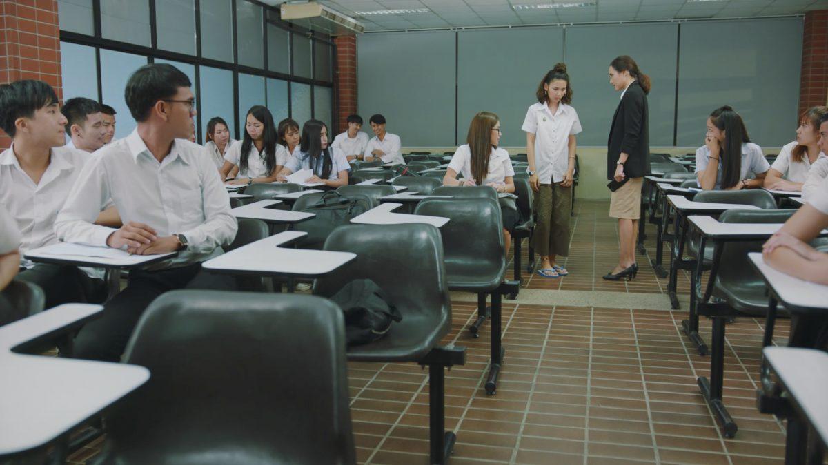 มินิซีรีส์ ไทยดี มีมารยาท ตอน เด็กรั่ว ในห้องเรียน