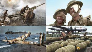 ภาพขาว-ดำจาก สงครามโลก ครั้งที่ 2 ถูกเติมสีให้ดูสมจริง และสวยงามมากยิ่งขึ้น