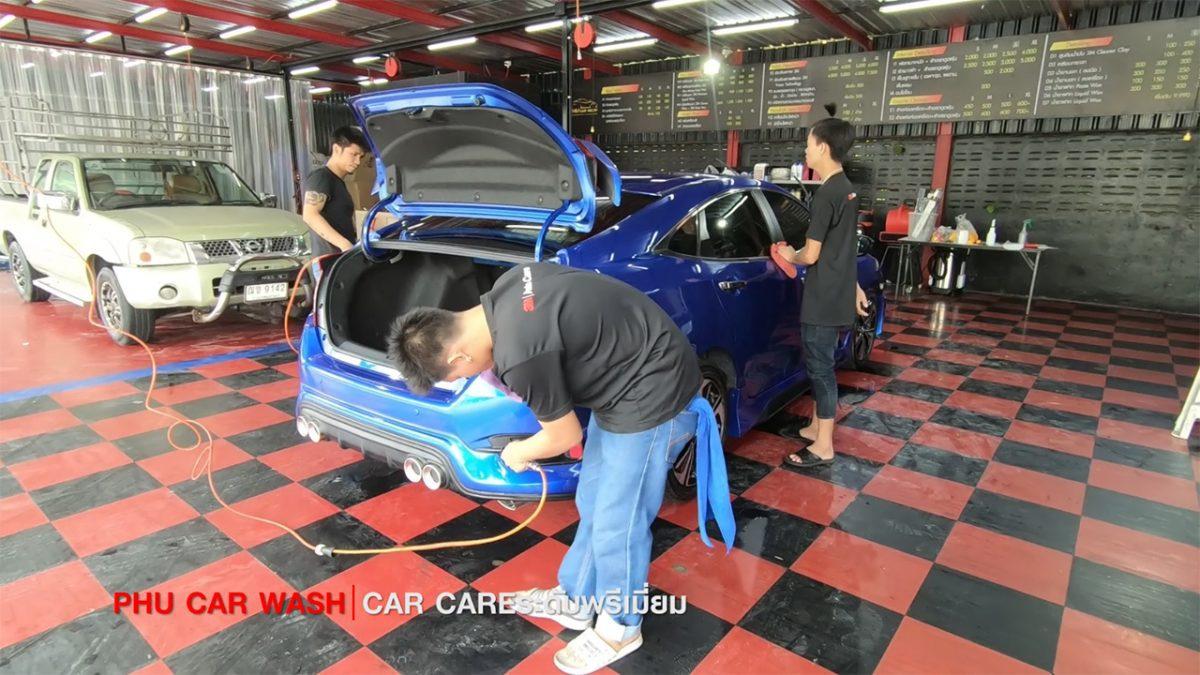 3M PHU CAR WASH : ล้าง ขัด เคลือบ ครบ..จบในที่เดีย