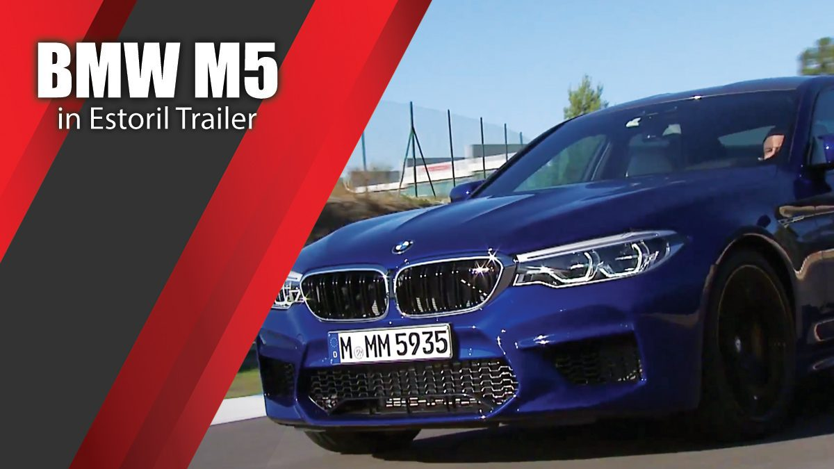 BMW M5 in Estoril Trailer