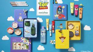 สาวก Toy Story อย่าพลาด! แกะกล่อง Innisfree เซตลิมิเต็ดสุดน่ารัก ให้ได้ฟินกัน