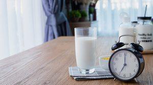 ดื่มนมให้ถูกต้องตามเวลา