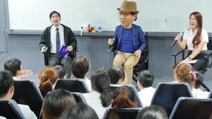 ขำลั่นห้องเรียน! โน้ส อุดม เวิร์คช็อปตอบ-คำถามนักศึกษาม.ธุรกิจบัณฑิตย์